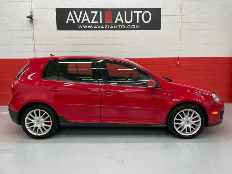 2007 Volkswagen GTI for sale at AVAZI AUTO GROUP LLC in Gaithersburg MD