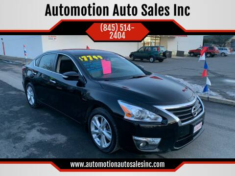 2013 Nissan Altima for sale at Automotion Auto Sales Inc in Kingston NY