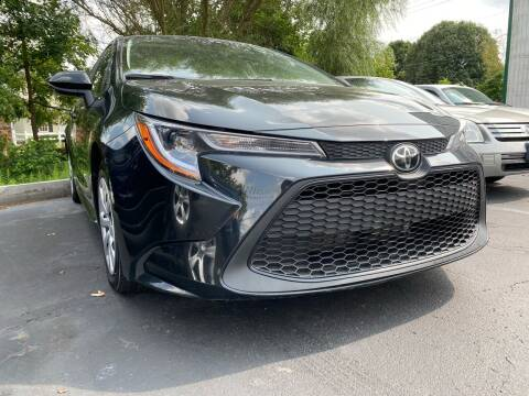 2020 Toyota Corolla for sale at Auto Exchange in The Plains OH