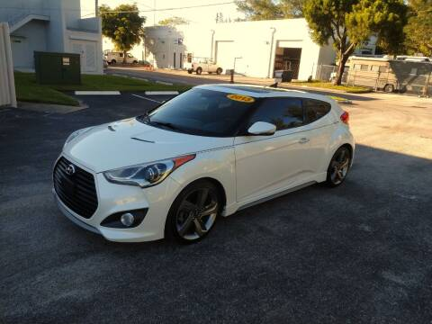 2013 Hyundai Veloster for sale at Best Price Car Dealer in Hallandale Beach FL