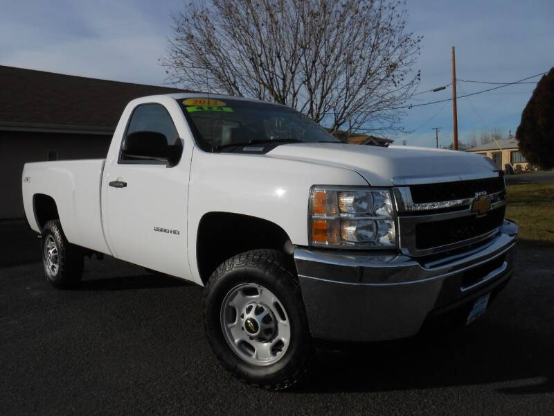 2012 Chevrolet Silverado 2500HD for sale at McKenna Motors in Union Gap WA