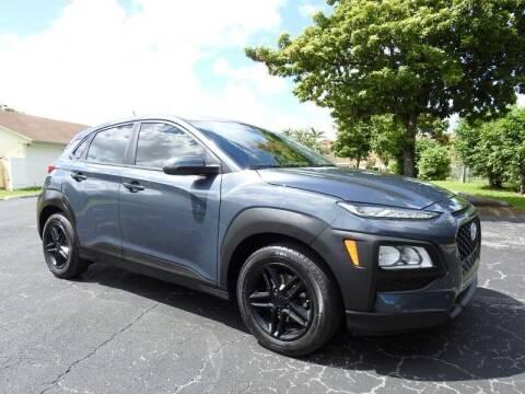 2020 Hyundai Kona for sale at SUPER DEAL MOTORS 441 in Hollywood FL