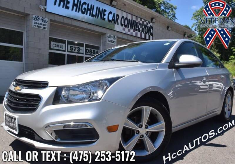 2015 Chevrolet Cruze for sale at The Highline Car Connection in Waterbury CT