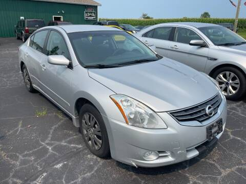 2012 Nissan Altima for sale at Pine Auto Sales in Paw Paw MI