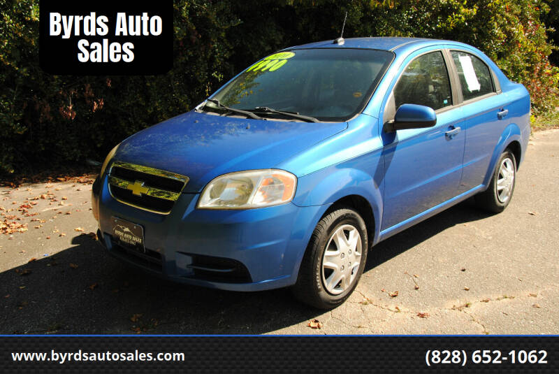 2010 Chevrolet Aveo for sale at Byrds Auto Sales in Marion NC