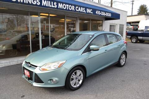 2012 Ford Focus for sale at Owings Mills Motor Cars in Owings Mills MD