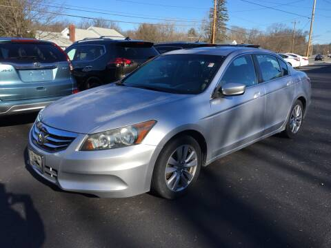 2011 Honda Accord for sale at Delafield Motors in Glenville NY
