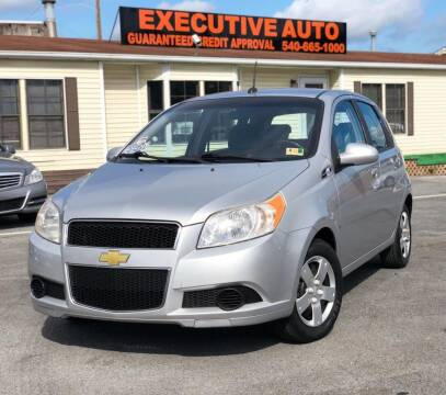 2009 Chevrolet Aveo for sale at Executive Auto in Winchester VA