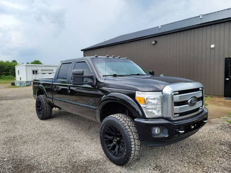 2015 Ford F-250 Super Duty for sale at J & S Auto Sales in Blissfield MI