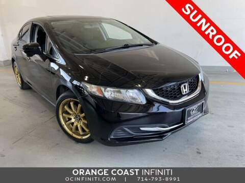 2015 Honda Civic for sale at ORANGE COAST CARS in Westminster CA