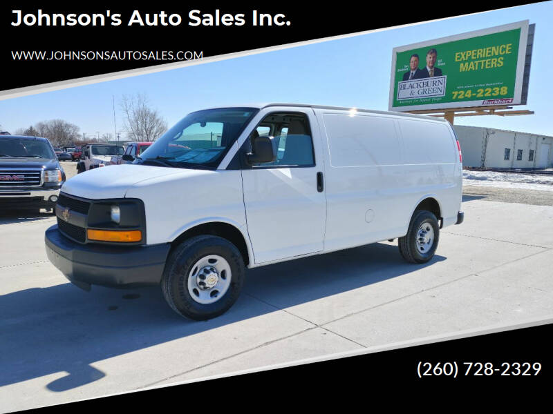 2013 Chevrolet Express Cargo for sale at Johnson's Auto Sales Inc. in Decatur IN