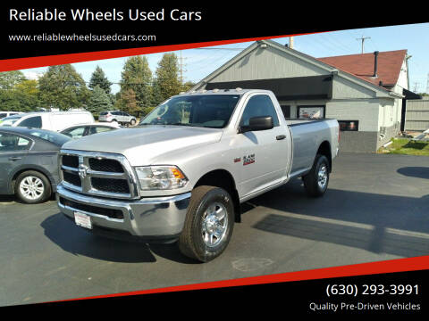 2016 RAM Ram Pickup 2500 for sale at Reliable Wheels Used Cars in West Chicago IL