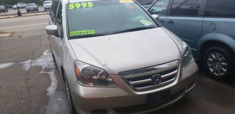2006 Honda Odyssey for sale at TC Auto Repair and Sales Inc in Abington MA