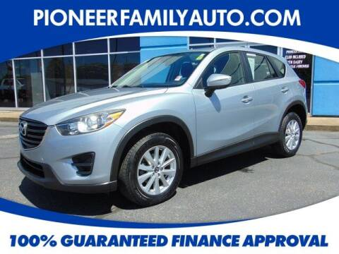 2016 Mazda CX-5 for sale at Pioneer Family Preowned Autos in Williamstown WV