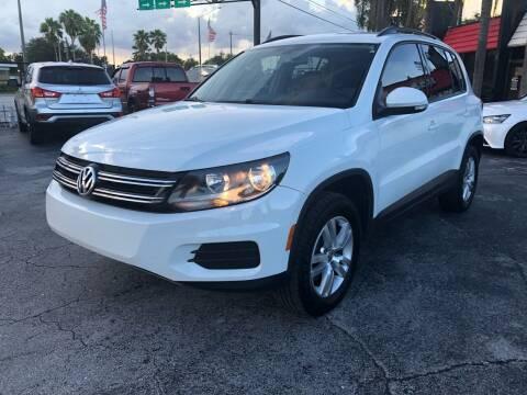 2016 Volkswagen Tiguan for sale at Gtr Motors in Fort Lauderdale FL