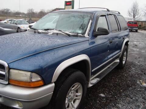 2002 Dodge Durango for sale at Branch Avenue Auto Auction in Clinton MD
