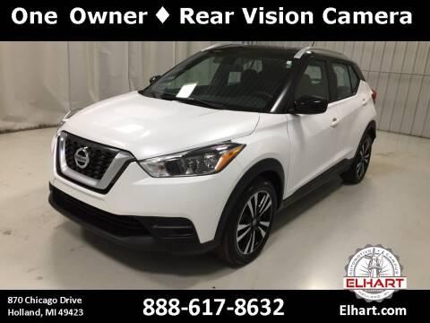 2019 Nissan Kicks for sale at Elhart Automotive Campus in Holland MI