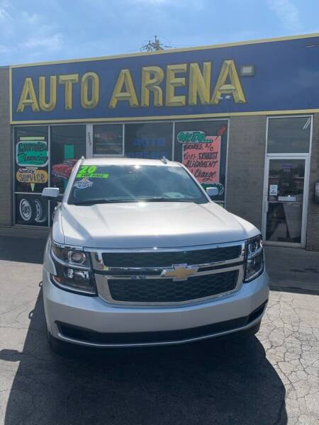 2020 Chevrolet Suburban for sale at Auto Arena in Fairfield OH