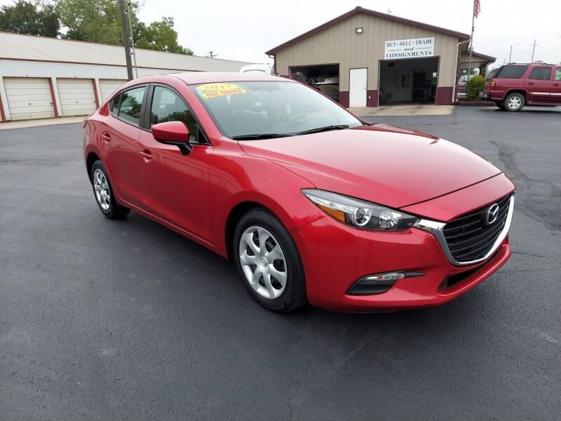 2017 Mazda MAZDA3 for sale at Holland's Auto Sales in Harrisonville MO