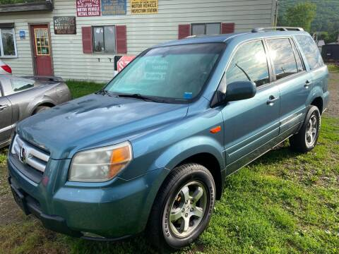 2008 Honda Pilot for sale at Richard C Peck Auto Sales in Wellsville NY