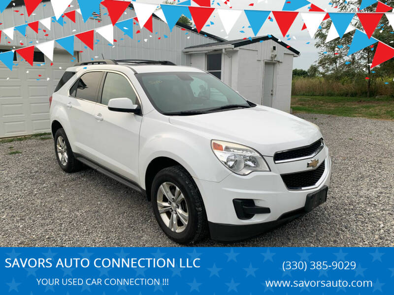 2013 Chevrolet Equinox for sale at SAVORS AUTO CONNECTION LLC in East Liverpool OH