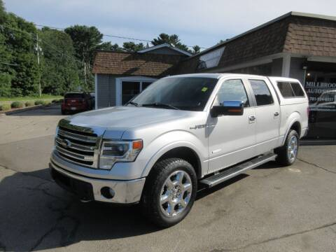 2014 Ford F-150 for sale at Millbrook Auto Sales in Duxbury MA