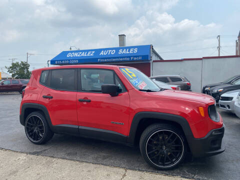 2015 Jeep Renegade for sale at Gonzalez Auto Sales in Joliet IL