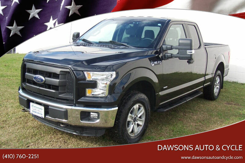 2016 Ford F-150 for sale at Dawsons Auto & Cycle in Glen Burnie MD