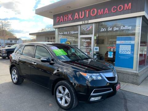2011 Acura MDX for sale at Park Auto LLC in Palmer MA