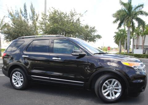 2013 Ford Explorer for sale at Maxicars Auto Sales in West Park FL