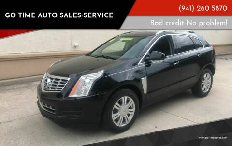2014 Cadillac SRX for sale at Go Time Automotive in Sarasota FL