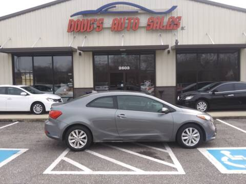 2014 Kia Forte Koup for sale at DOUG'S AUTO SALES INC in Pleasant View TN