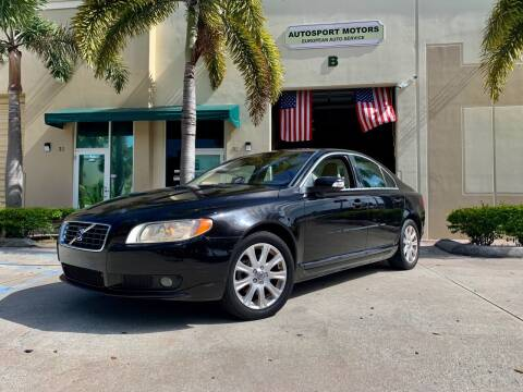 2009 Volvo S80 for sale at AUTOSPORT MOTORS in Lake Park FL