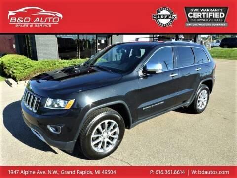 2014 Jeep Grand Cherokee for sale at B&D Auto Sales Inc in Grand Rapids MI