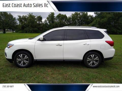 2017 Nissan Pathfinder for sale at East Coast Auto Sales llc in Virginia Beach VA