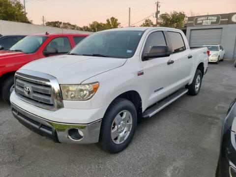 2012 Toyota Tundra for sale at DON BAILEY AUTO SALES in Phenix City AL