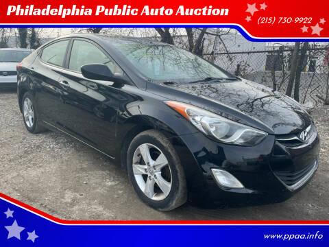 2012 Hyundai Elantra for sale at Philadelphia Public Auto Auction in Philadelphia PA