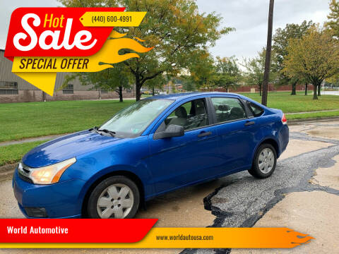 2010 Ford Focus for sale at World Automotive in Euclid OH