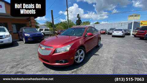 2013 Chevrolet Cruze for sale at Hot Deals On Wheels in Tampa FL