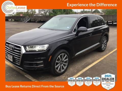 2018 Audi Q7 for sale at Dallas Auto Finance in Dallas TX