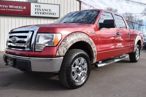 2010 Ford F-150 for sale at Dealswithwheels in Inver Grove Heights MN