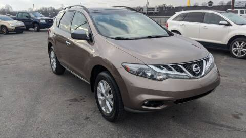 2012 Nissan Murano for sale at Newport Auto Group Boardman in Boardman OH