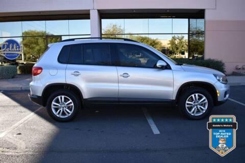 2016 Volkswagen Tiguan for sale at GOLDIES MOTORS in Phoenix AZ