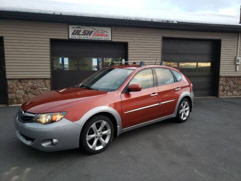 2010 Subaru Impreza for sale at Ulsh Auto Sales Inc. in Summit Station PA