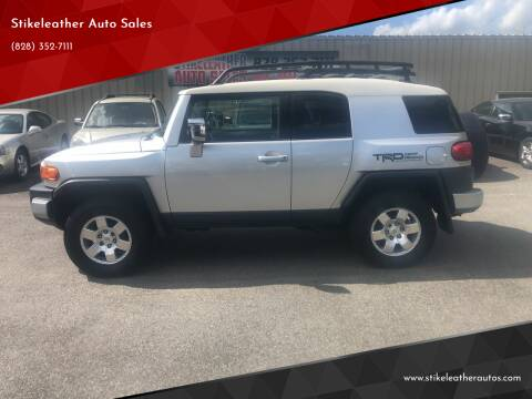 2007 Toyota FJ Cruiser for sale at Stikeleather Auto Sales in Taylorsville NC
