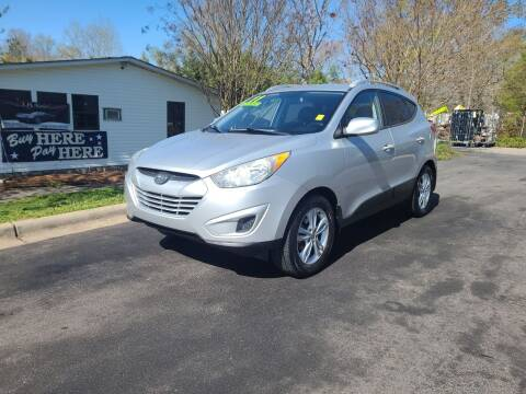 2011 Hyundai Tucson for sale at TR MOTORS in Gastonia NC