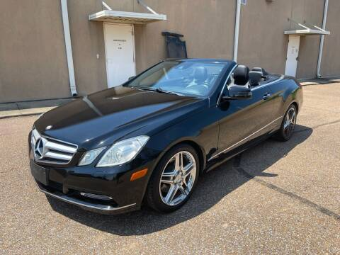 2013 Mercedes-Benz E-Class for sale at The Auto Toy Store in Robinsonville MS