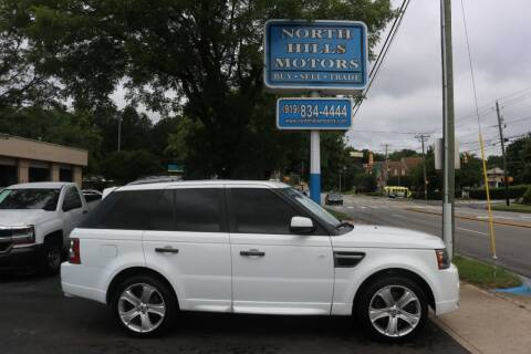 2011 Land Rover Range Rover Sport for sale at North Hills Motors in Raleigh NC