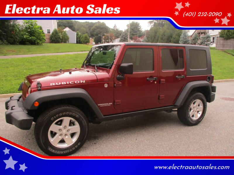 2007 Jeep Wrangler Unlimited for sale at Electra Auto Sales in Johnston RI