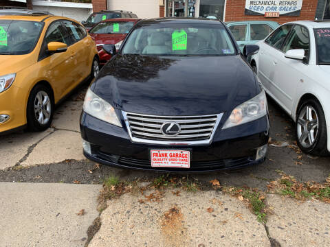 2010 Lexus ES 350 for sale at Frank's Garage in Linden NJ